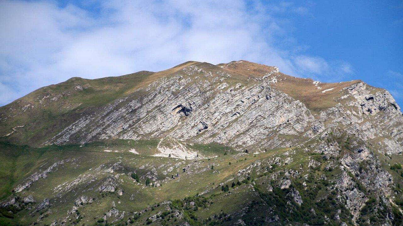Le montagne sopra Ponte nelle Alpi nel Bellunese