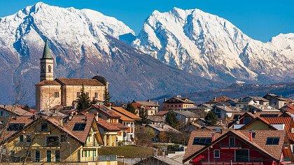winter in Limana iStock