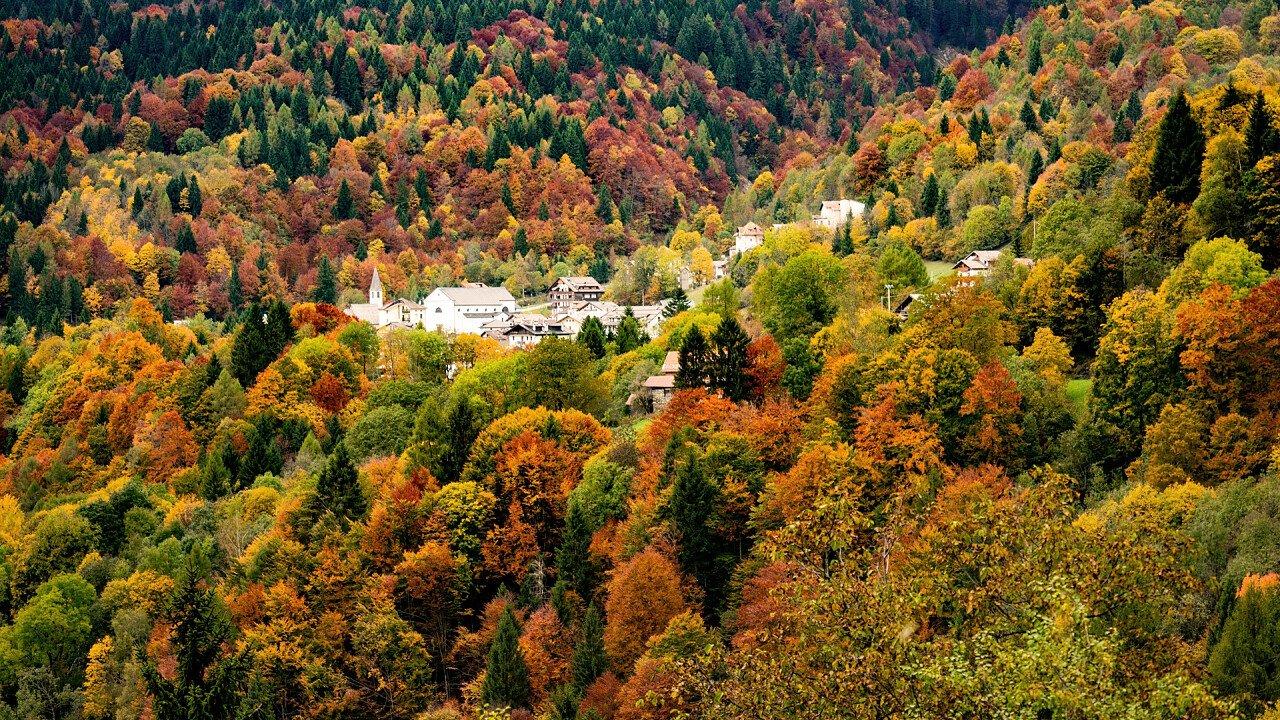 autumn_town_gosaldo_iStock