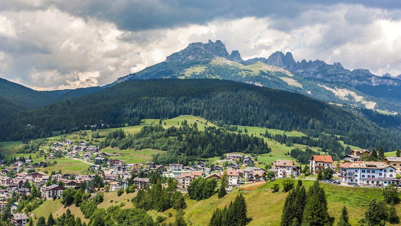 Panorama San Giovanni di Fassa