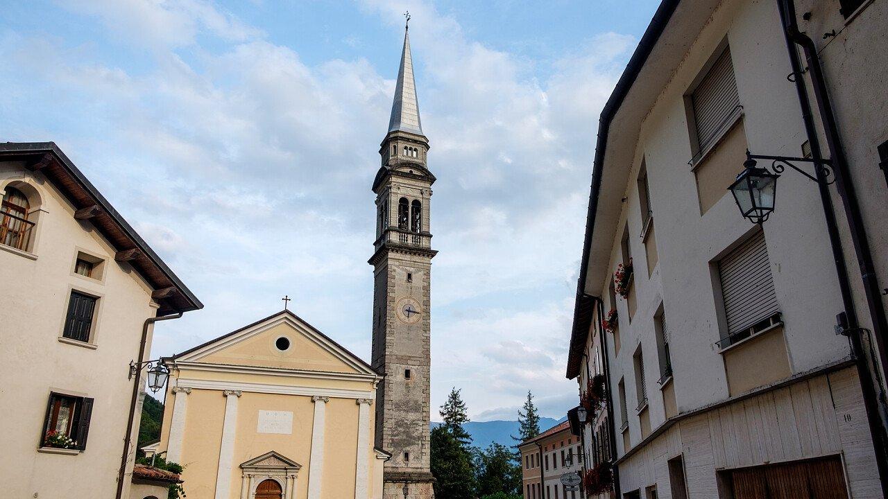 Church of Fonzaso - Shutterstock