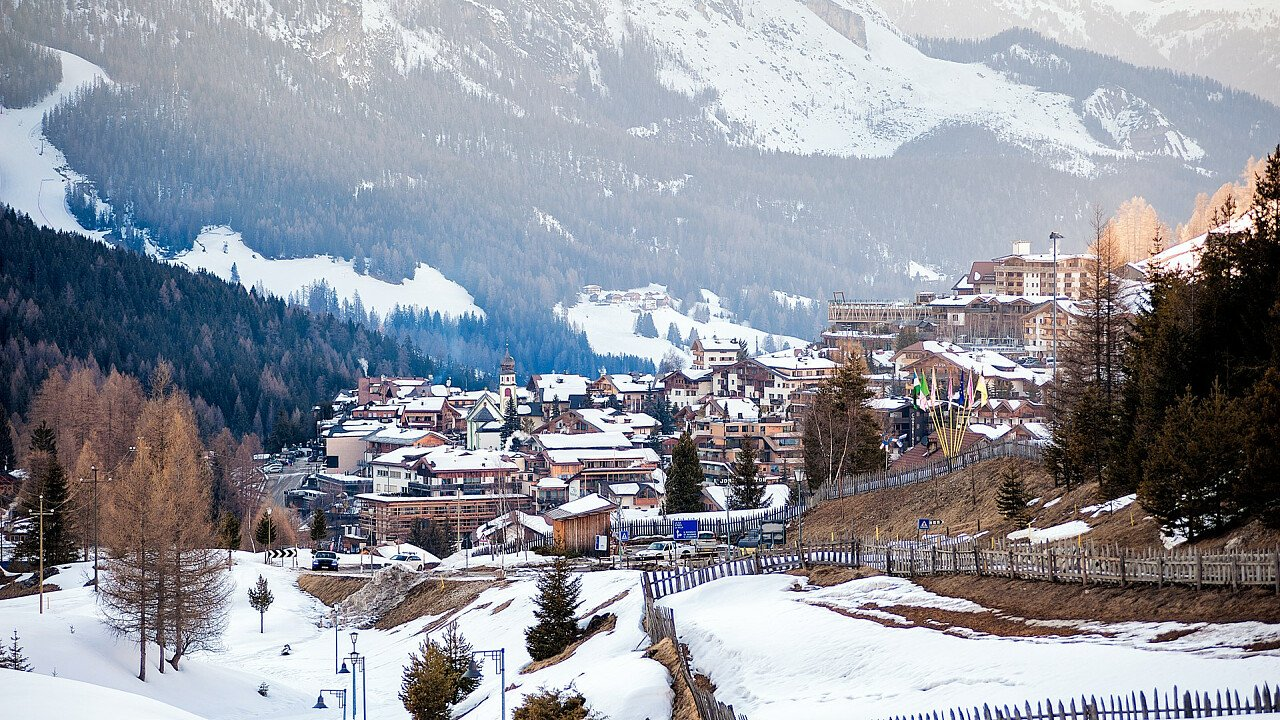 Winter in St. Kassian