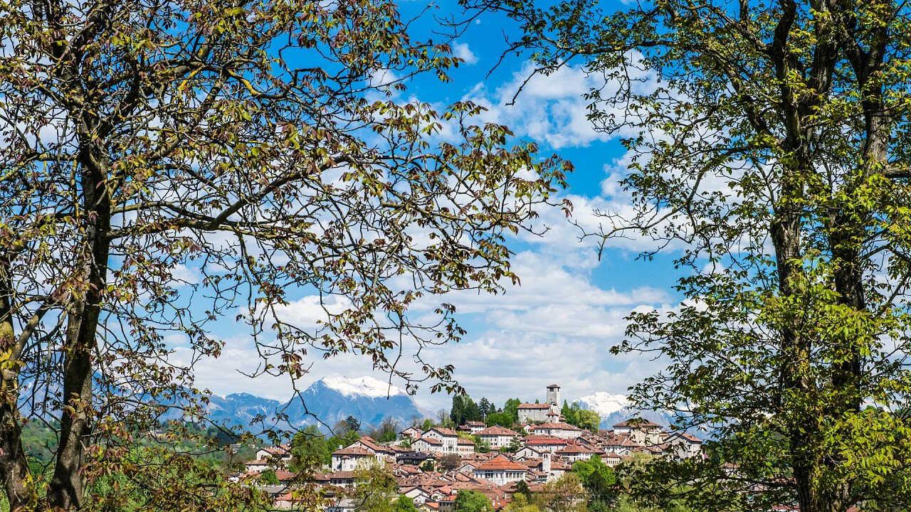 view of the city of Feltre - iStock