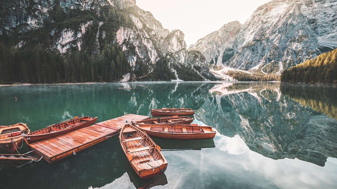 boats at Lake Braies - Viktor Hanacek | picjumbo
