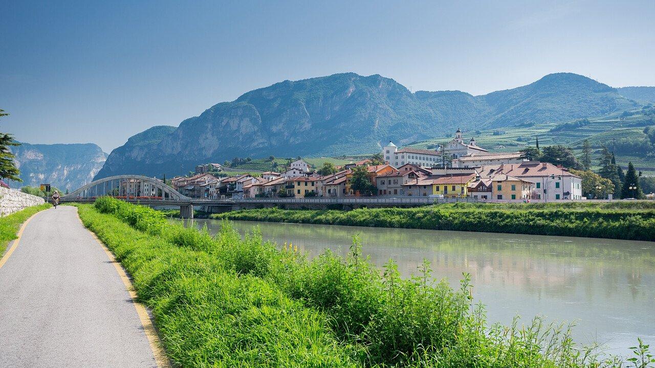 Radweg Claudio Augusta San Michele all'Adige