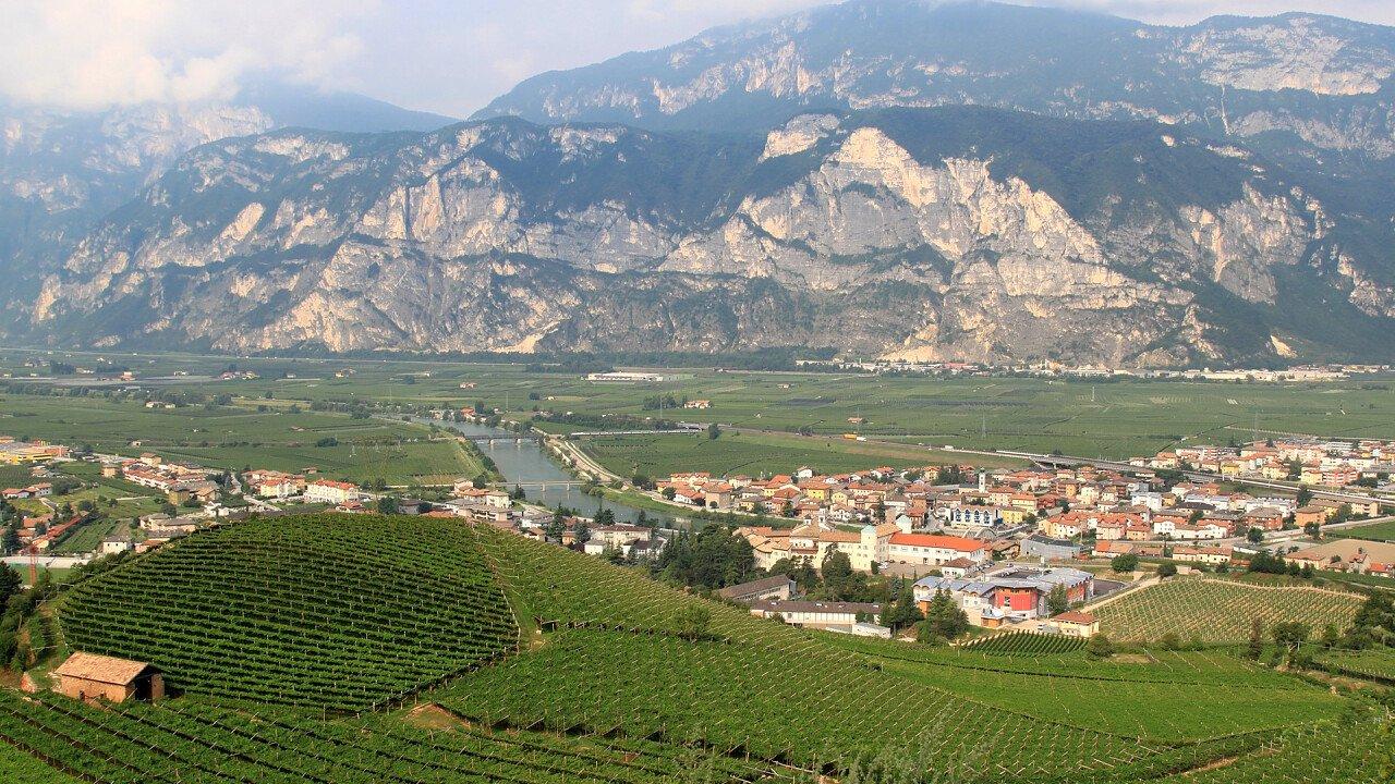 Panorama San Michele all'Adige