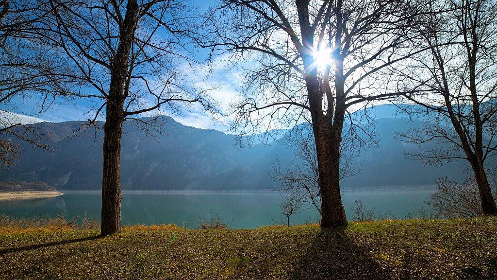 Arsiè, on the shores of Lake Corlo - cover