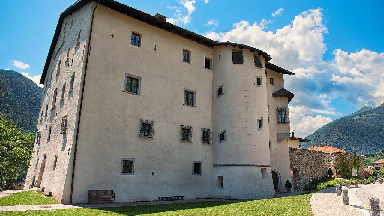 Exterior of the Caldes Castle