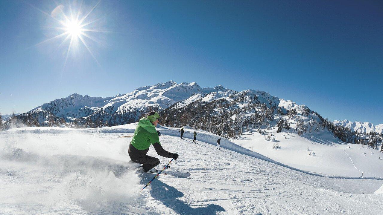Skifahrer Folgarida-Marrileva