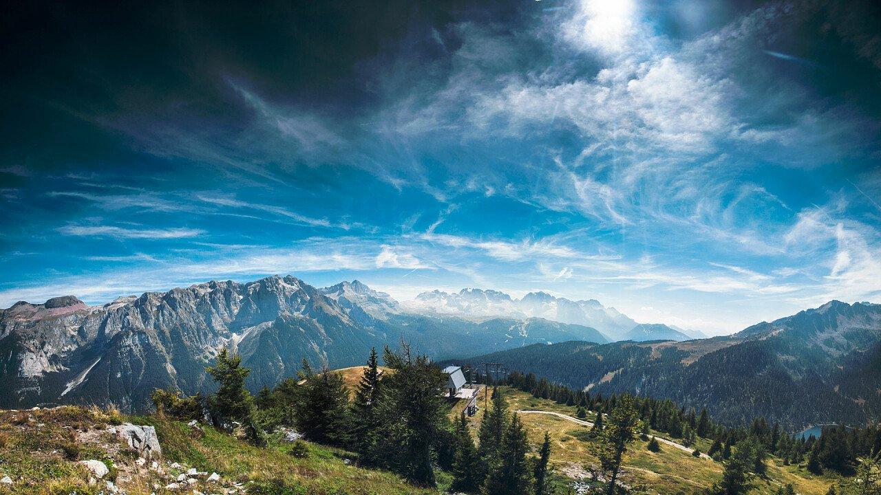 Mezzana-Marilleva Naturlandschaften