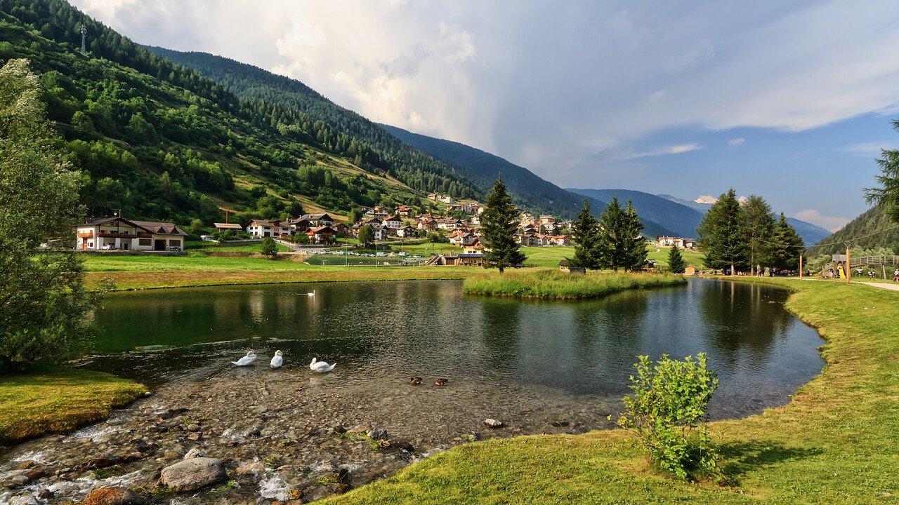 Summer lake Passo Tonale - Vermiglio