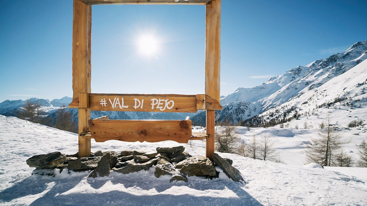 Peio Cogolo Skigebiet Rahmen
