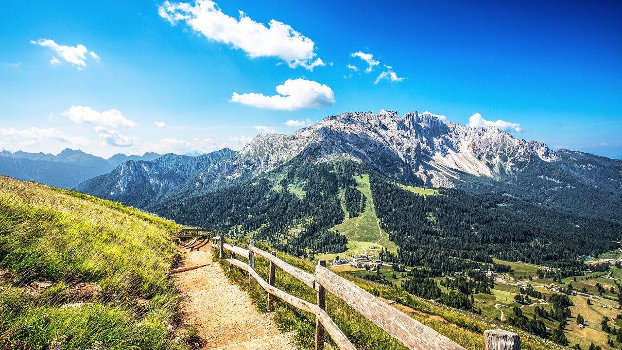 Summer Latemar Obereggen Hiking