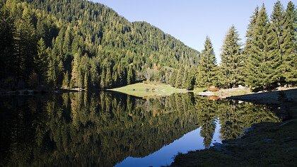 Caprioli lake in Pellizano