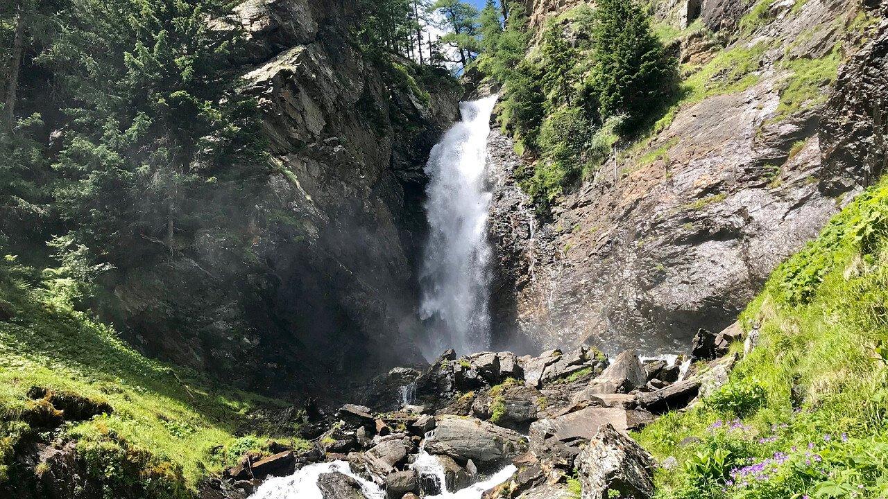 Wasserfälle Rabbi