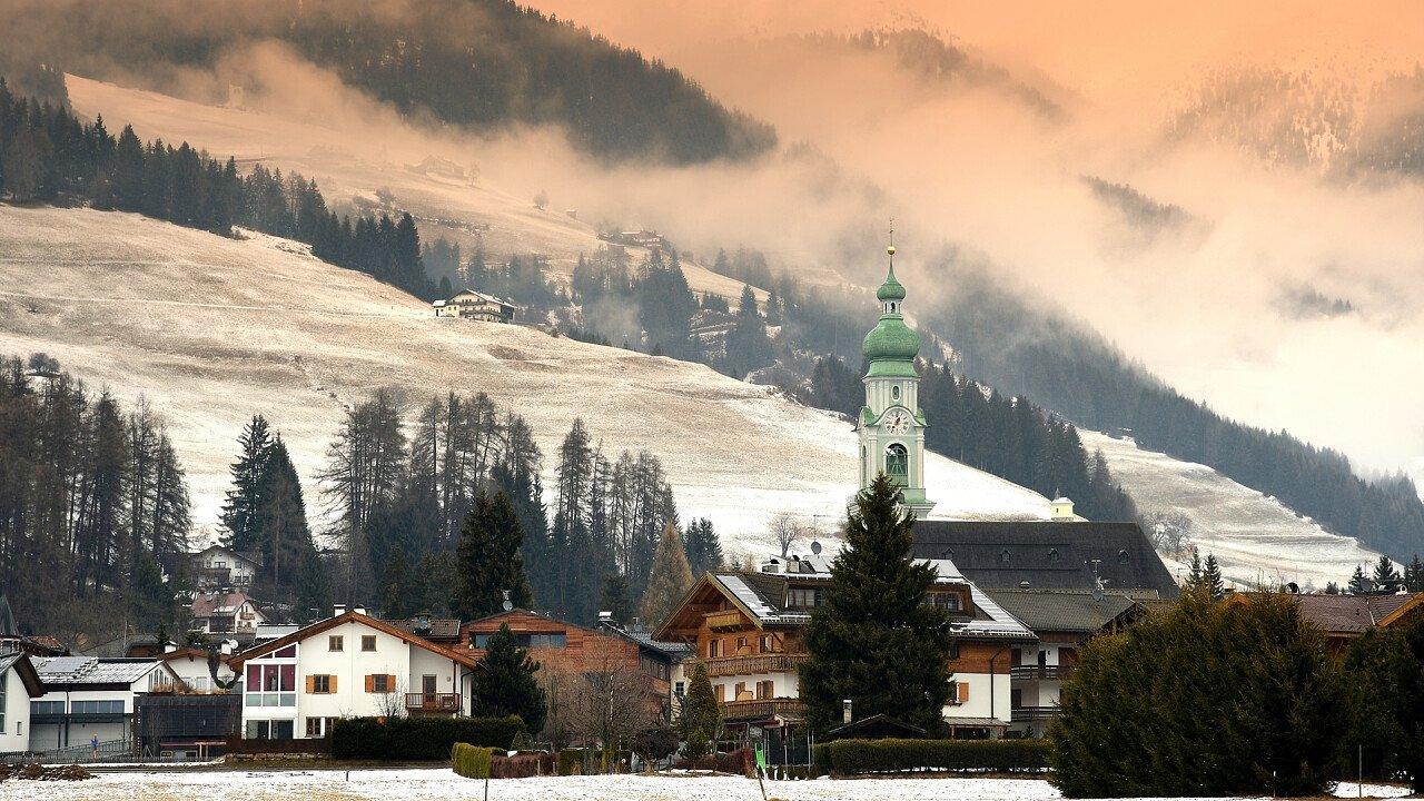 Winter in Toblach