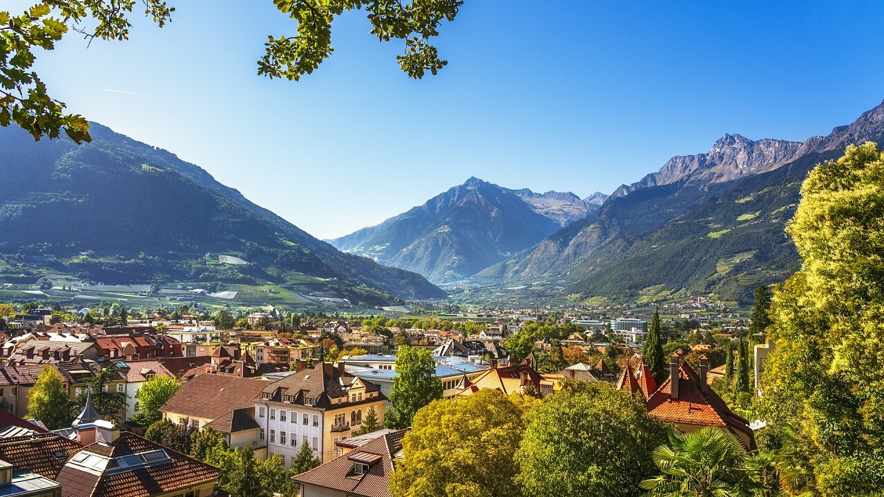 Merano from above