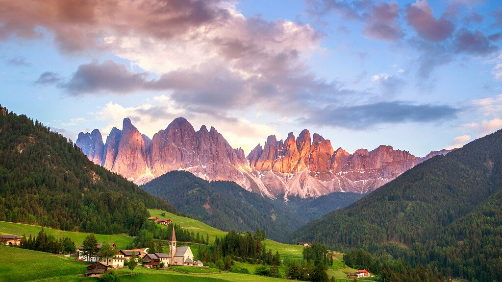 Val di Funes, in the shadow of the Odle - cover