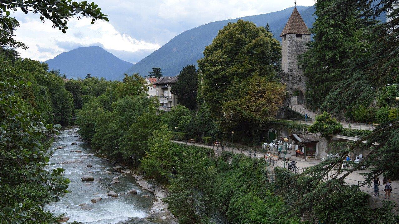 River along Castelbello-Ciardes