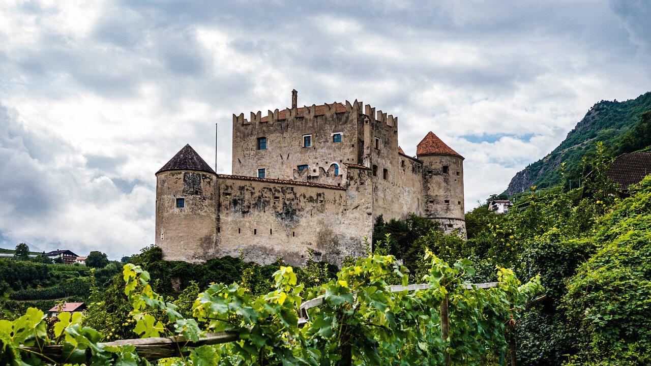 Vineyards around Castelbello-Ciardes