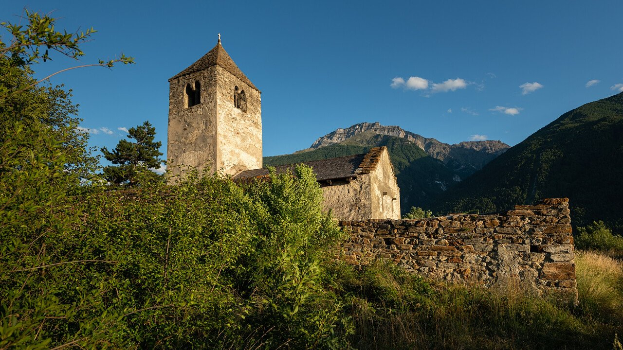 Old church in Lasa