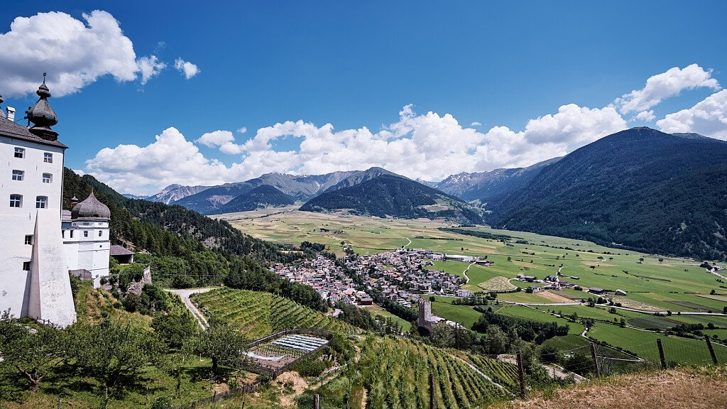 Malles, holidays among churches, castles, cycle paths and ski slopes - cover