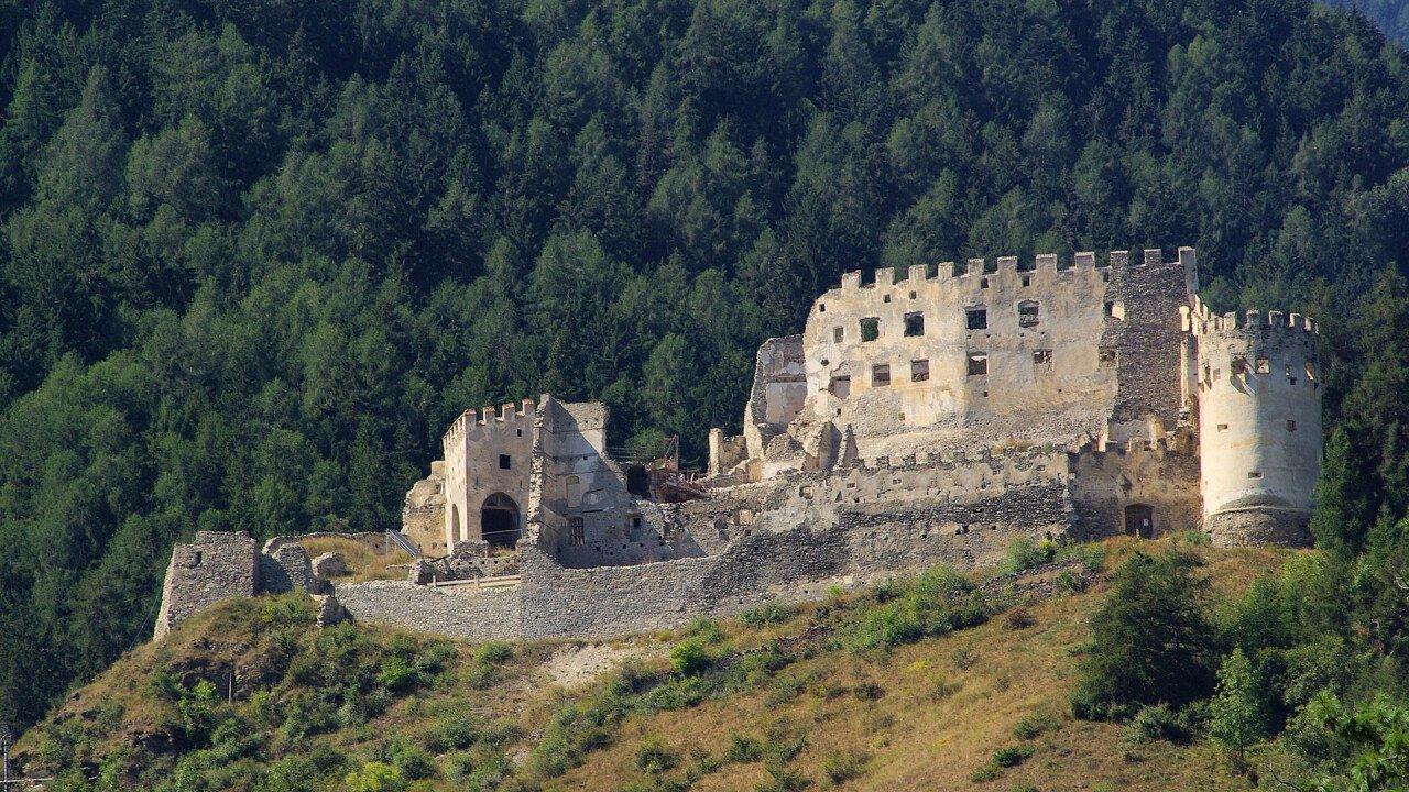 Montechiaro Castle in Prato allo Stelvio