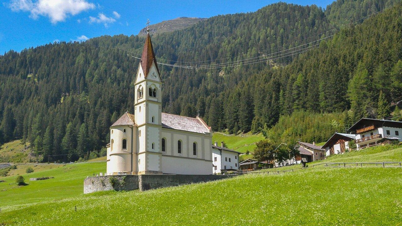 Chiesa di montagna a Solda