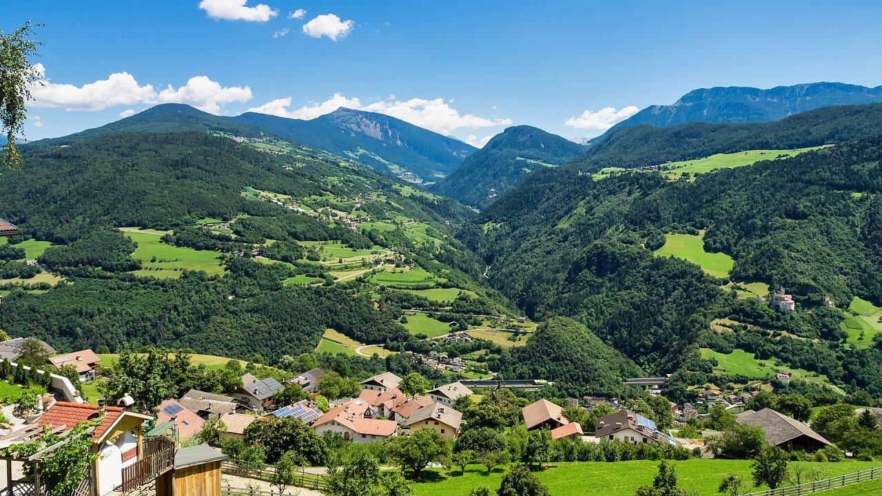 Panorama in Val Senales