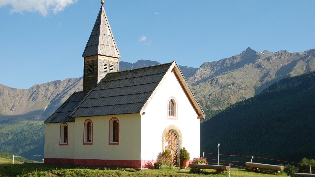 Church Maso Corto Val Senales