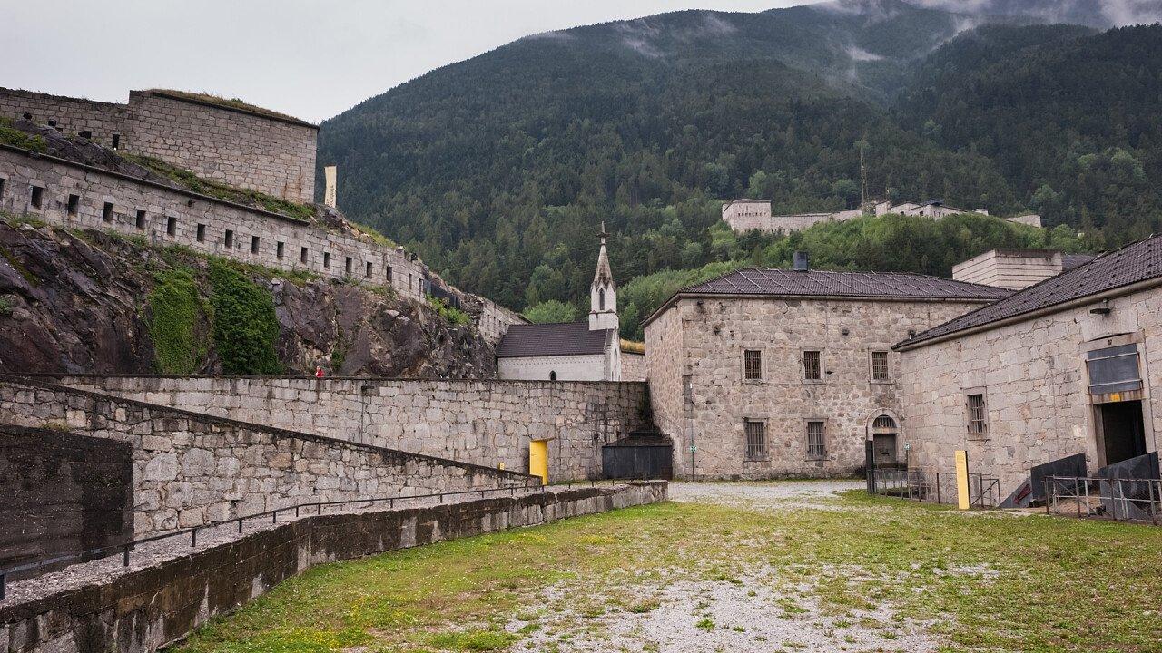 Interno della fortezza di Fortezza