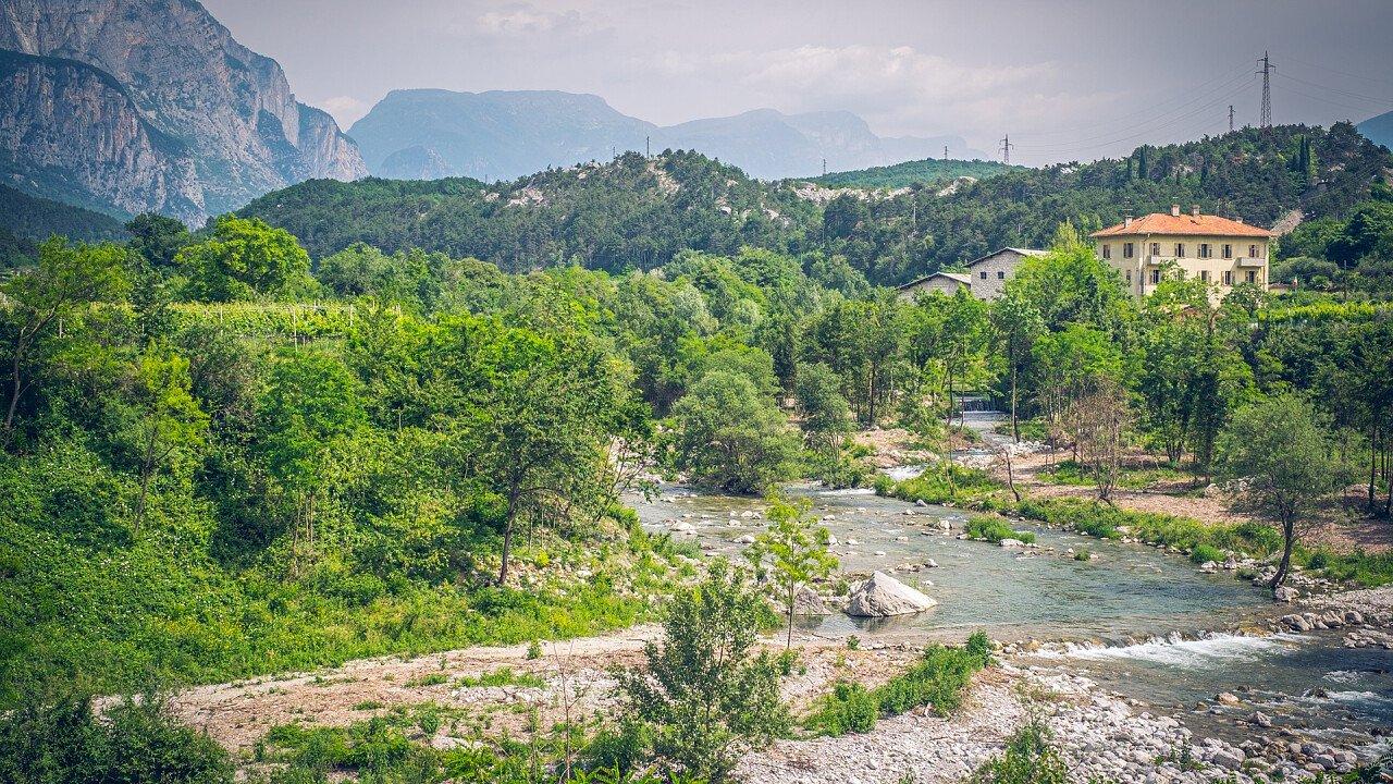 Fluss in Dro