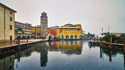 Inverno a Riva del Garda