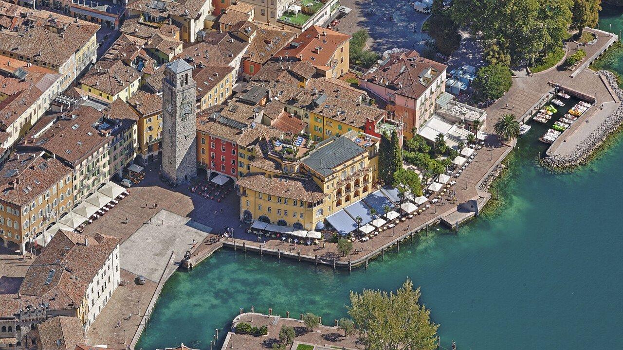 Riva del Garda from above