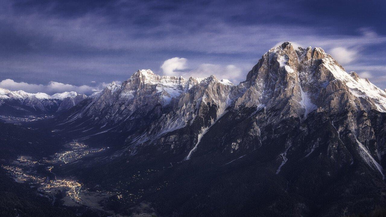 Winter in Valle di Cadore