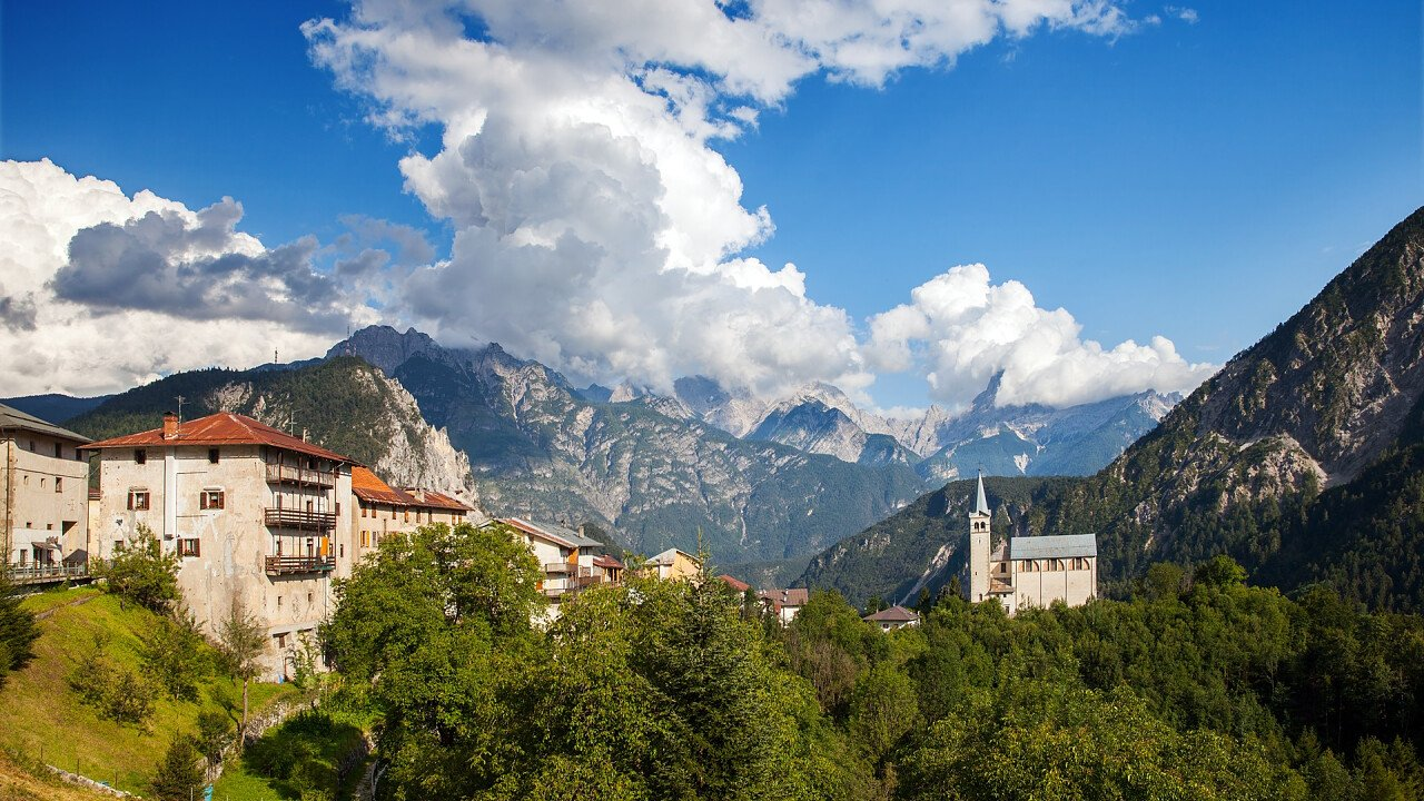 Valle di Cadore im Sommer
