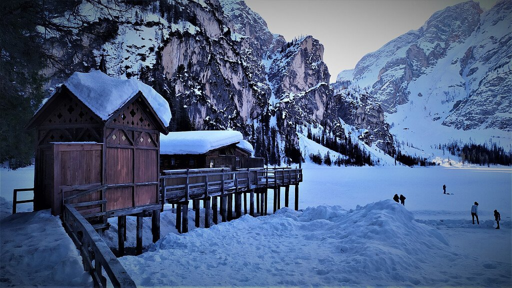 Braies, holidays in the holiday region Three Peaks in the Dolomites - cover