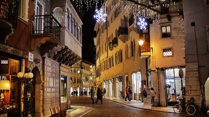 Trento by night