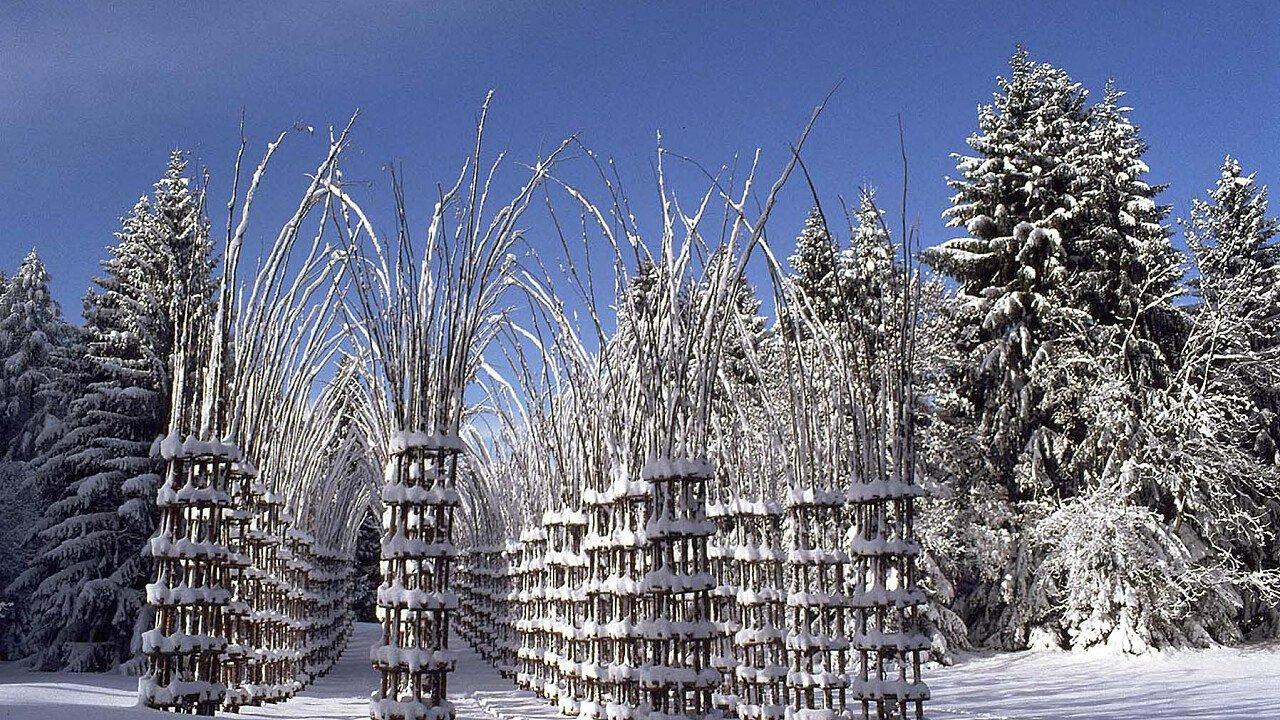 Arte Sella in inverno, vicino a Borgo Valsugana - Trentino