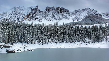 Winter Karer See