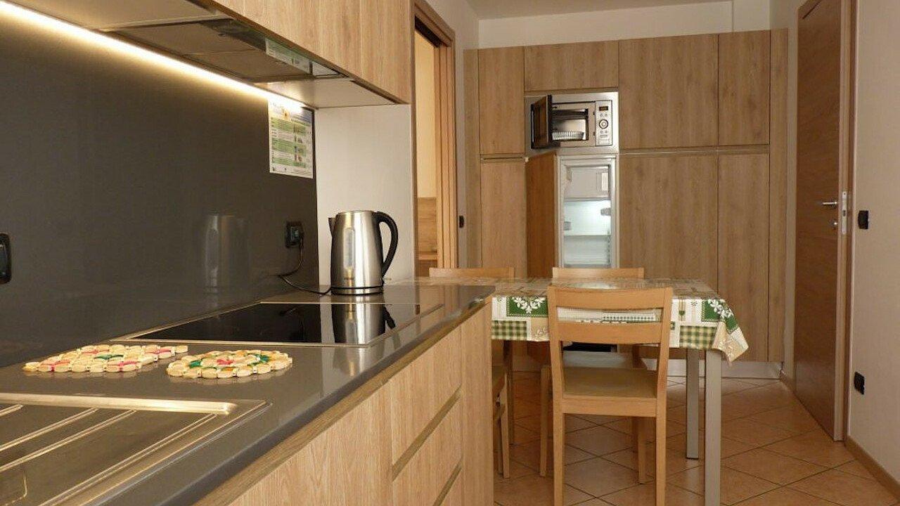 cucina_appartamento_bilocale_residence_albonova_andalo