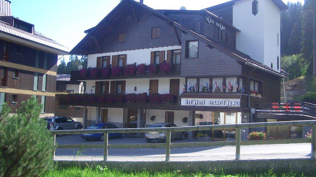 Hotel Europa - cover