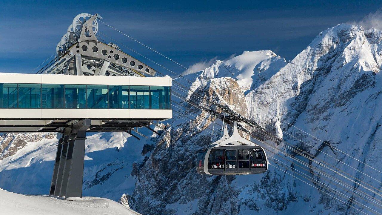 Impianti di risalita a Campitello di Fassa in Val di Fassa - Sciare in Trentino