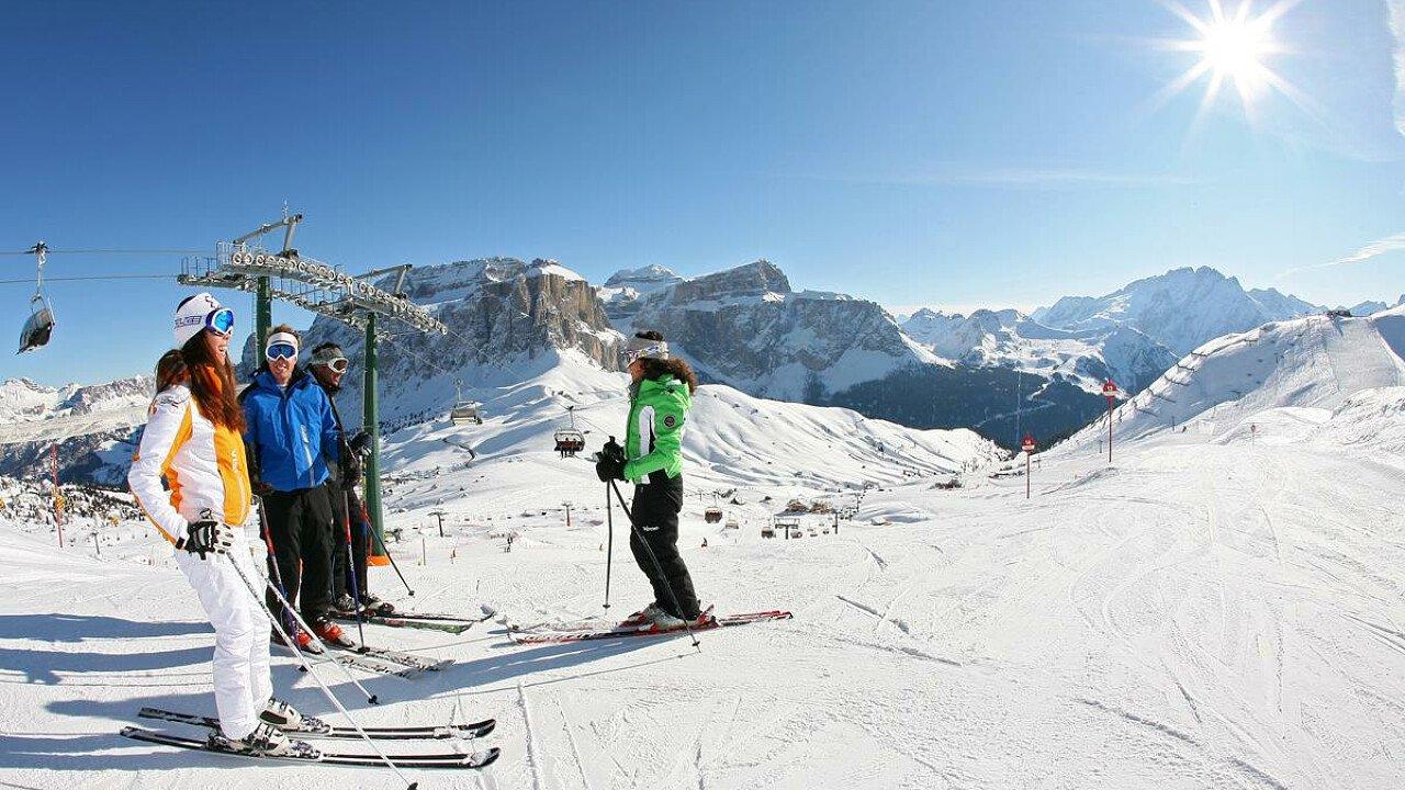 Dolomiti Superski: sciare tra le Dolomiti della Val di Fassa - Trentino