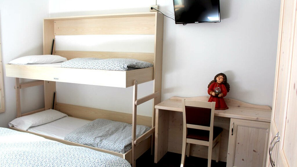 Standard with bunk bed - cover