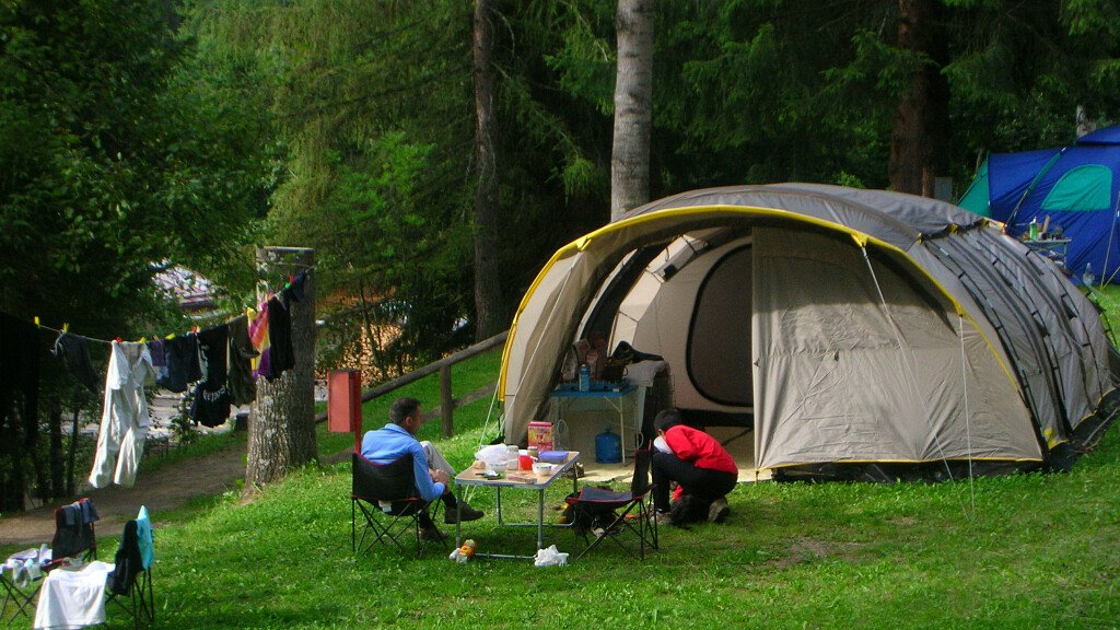 Camping pitches - cover
