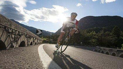 Sportler Radfahrer