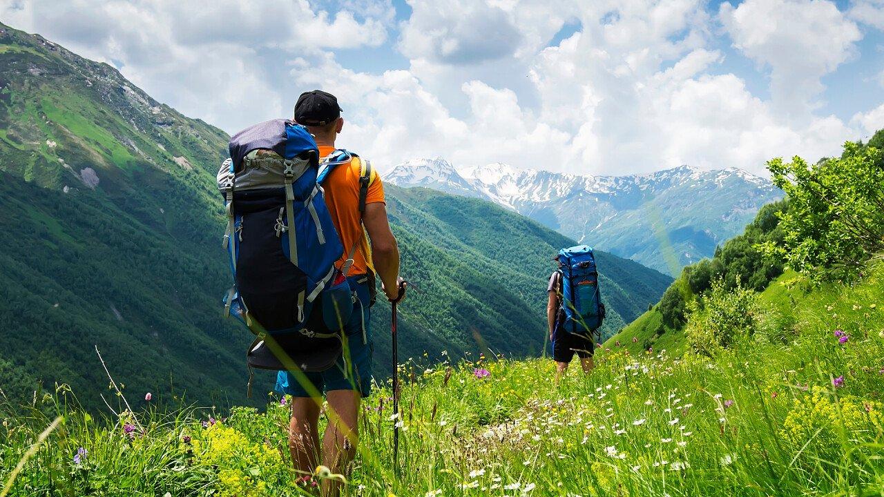 Trekking nella natura sulle Dolomiti