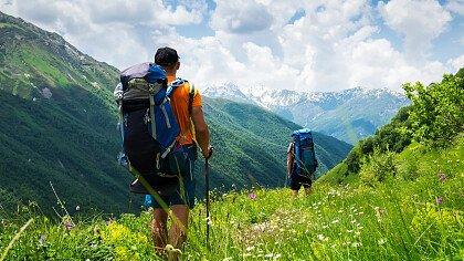 Trekking in autunno sulle Dolomiti