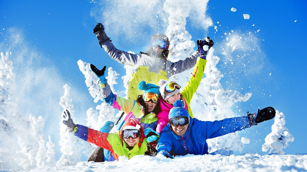 Winter snow holidays in the Dolomites of Trentino South Tyrol, Belluno and Friuli - cover